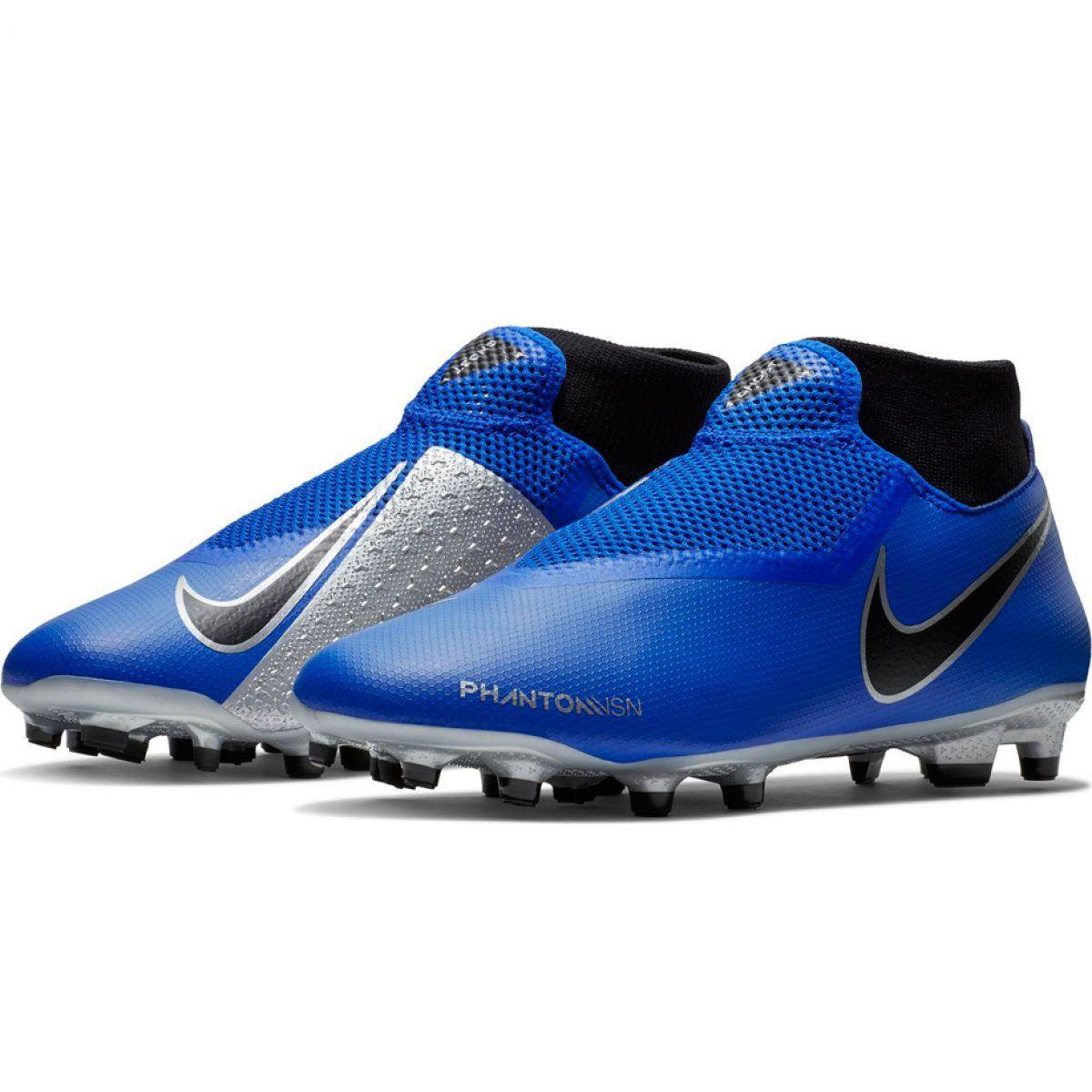Buty Pilkarskie Nike Phantom Vsn Academy Df Fg Mg M Ao3258 400 Niebieskie Wielokolorowe Football Shoes Nike Blue Shoes