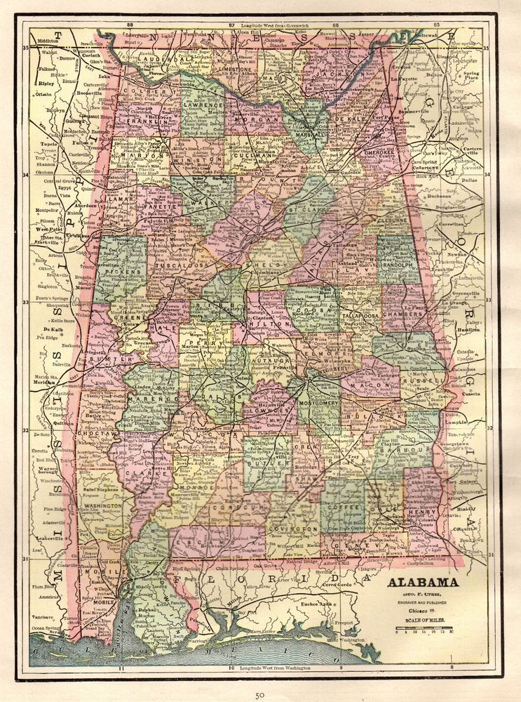 Details about 1925 Antique SOUTH CAROLINA Map Vintage Map of South ...