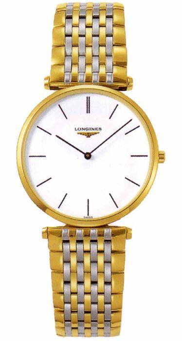 1e33d3962ef L4.709.2.12.7, L47092127, Longines la grande classique gold watch, mens