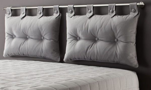 coussin pour tete de lit coutures pinterest tete de en t te et lits. Black Bedroom Furniture Sets. Home Design Ideas