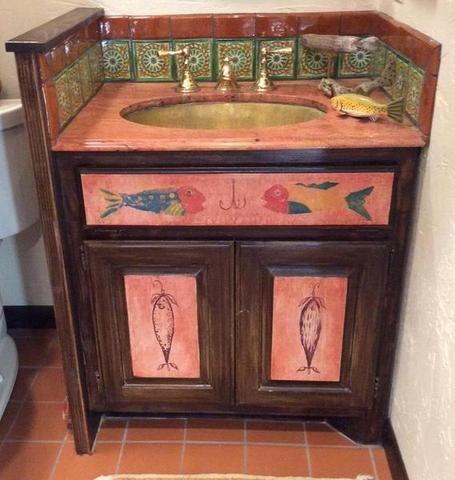 pinjamie kozimor on mexican tile bathrooms (with