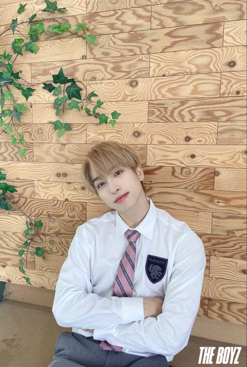 The Boyz Sangyeon In 2020 Fashion Boy Groups Adorable