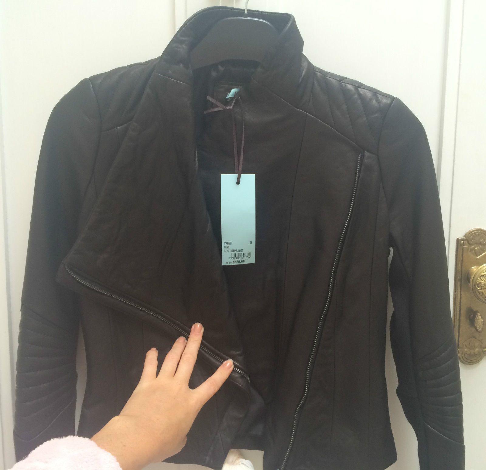 BNWT Kookai Leather Jacket  1093aa0f0