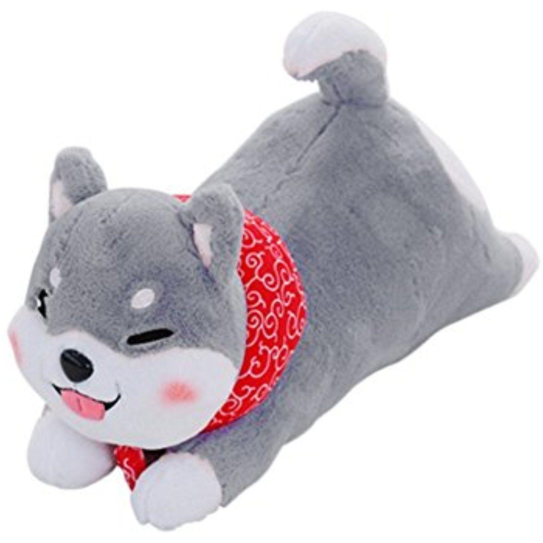 Yinggg Soft Toy Stuffed Shiba Inu Dog Plush Pillow Animal Doll Blink Grey Check Out The Image By Visiting The Link Animal Dolls Shiba Inu Dog Plush Pillows