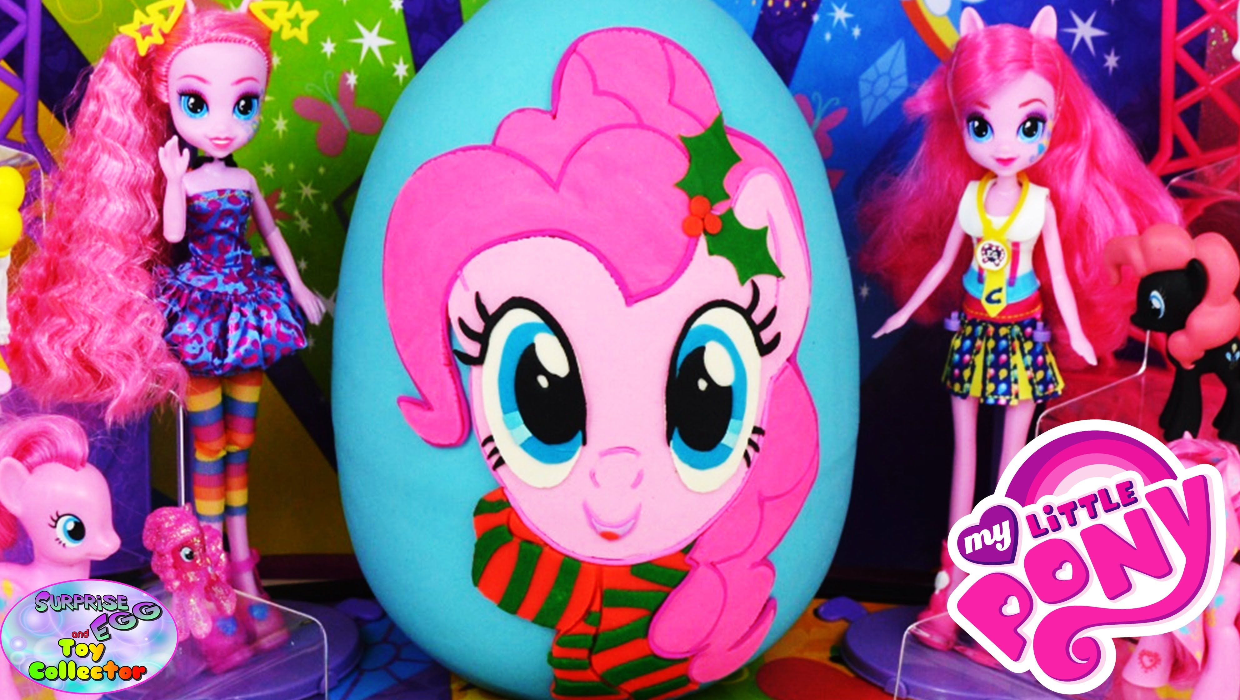 40ed3f638 My Little Pony Giant Play Doh Surprise Egg Pinkie Pie Christmas MLP SETC # MyLittlePony #