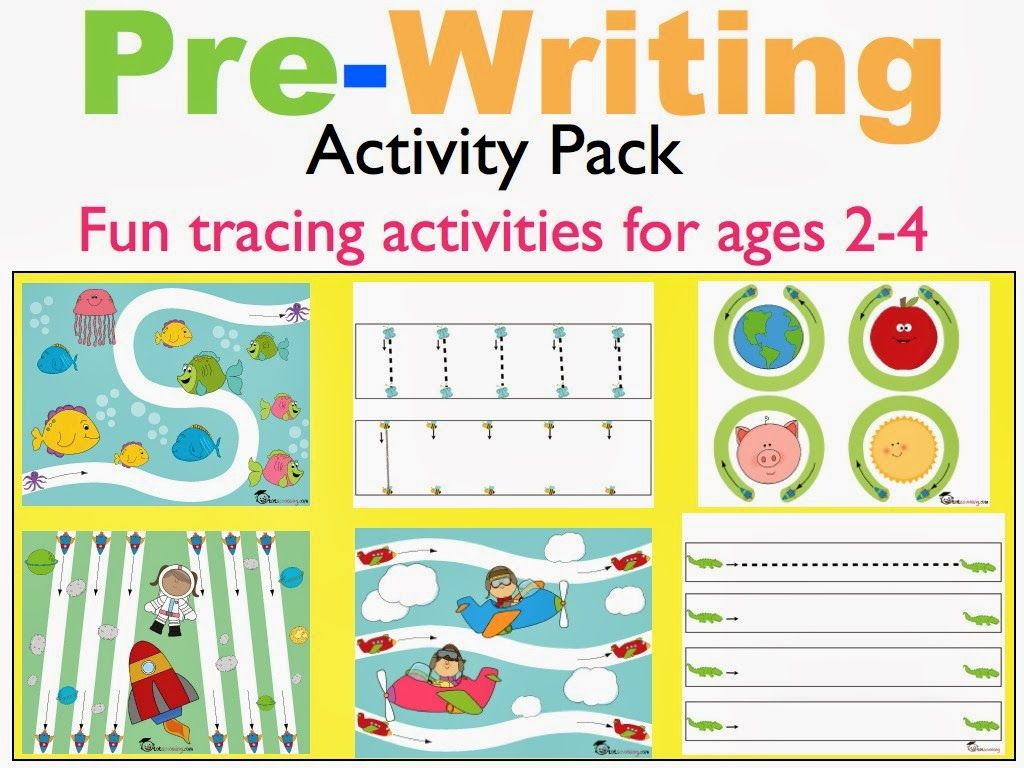 Pre Writing Tracing Pack For Toddlers