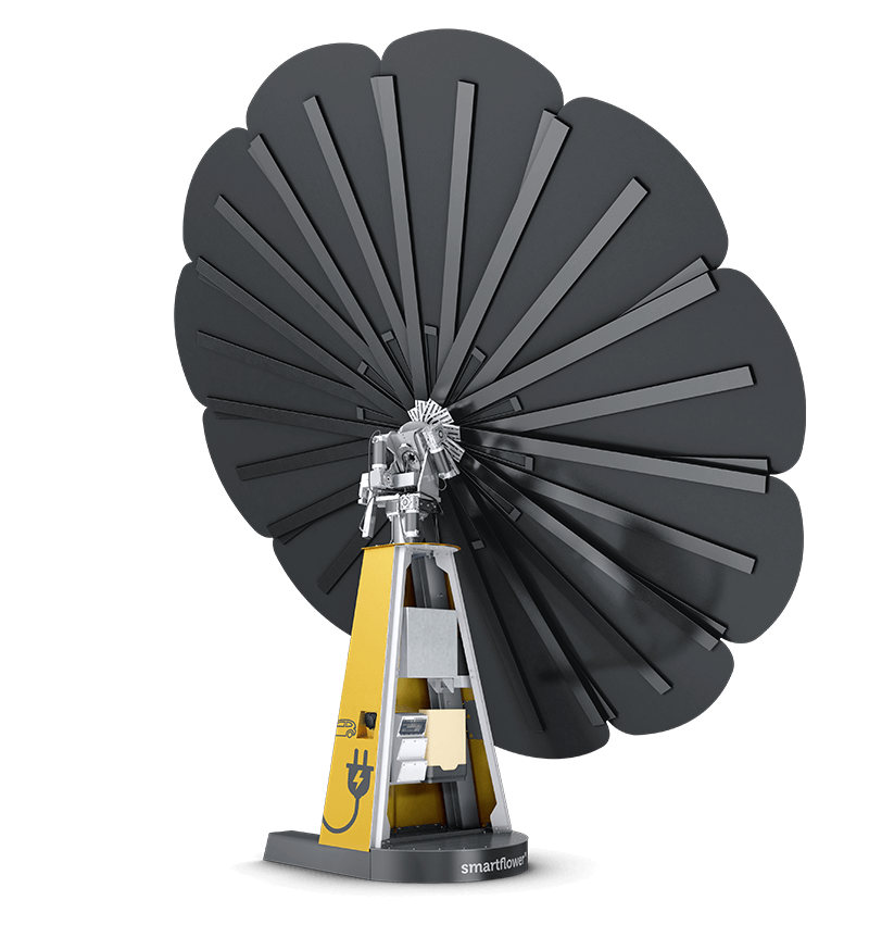 Power your home with clean solar power from smartflower, the most