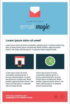 HTML newsletter design - Google Search | newsletter | Pinterest ...