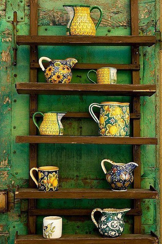 Italian Ceramics, Tuscan, Italy