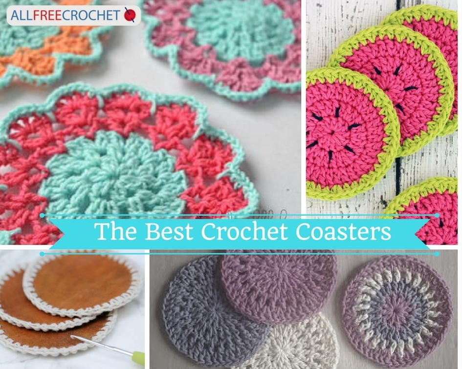 The Best Crochet Coasters To Make 16 Crochet Coasters Crochet