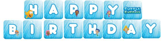 Bubble Guppies Banner | bubble guppies | Pinterest