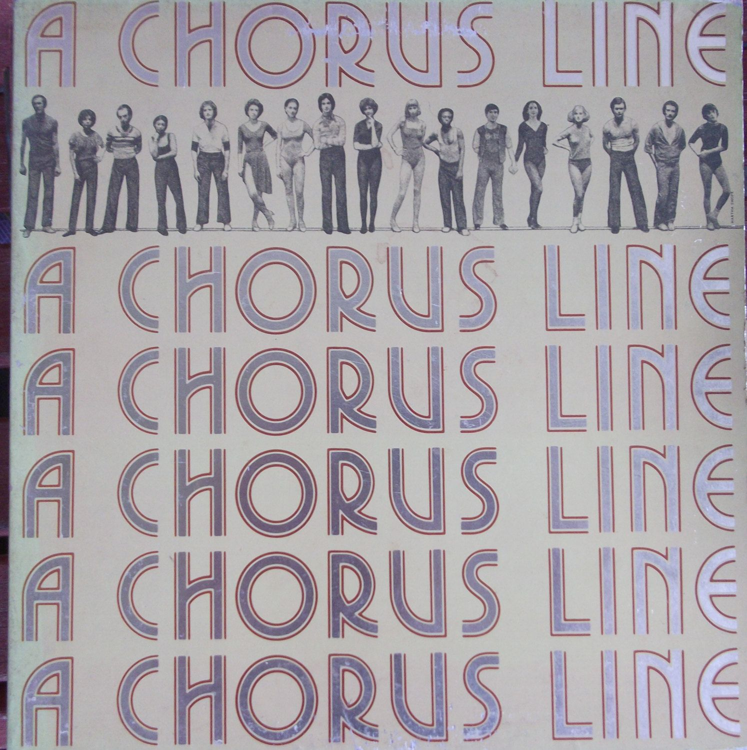 A Chorus Line, Original Cast Recording, Vintage Record Album, Vinyl LP, Marvin Hamlisch, Broadway Musical, New York Shakespeare Festival by VintageCoolRecords on Etsy