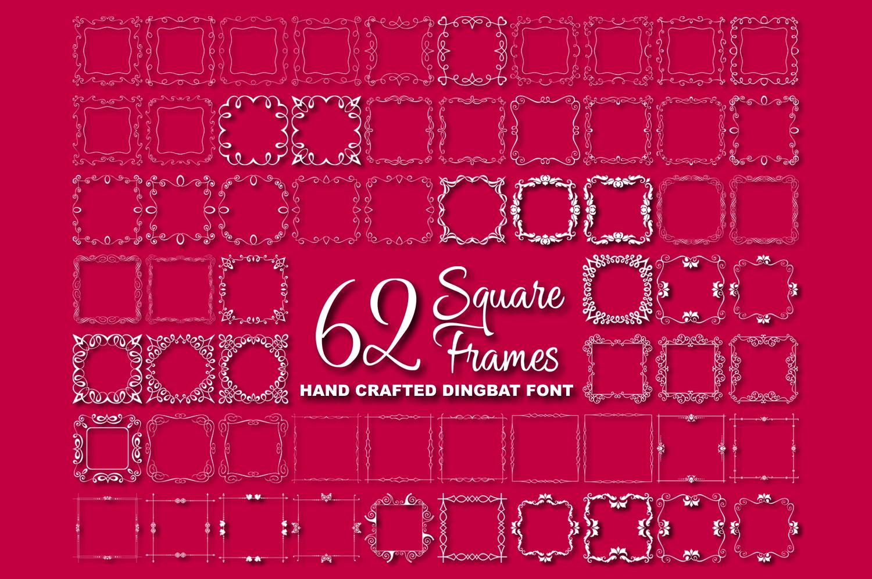 Square Frames Dingbat Font 181388 Logo Font Bundles En 2020 Glifos Linux Fabrica