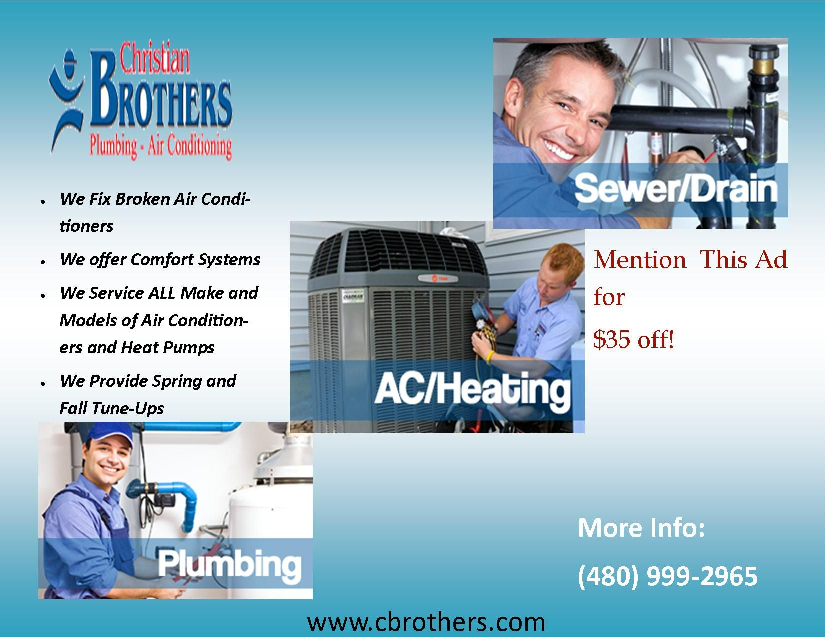 CHRISTIAN BROTHERS PLUMBING & AIR CONDITIONING