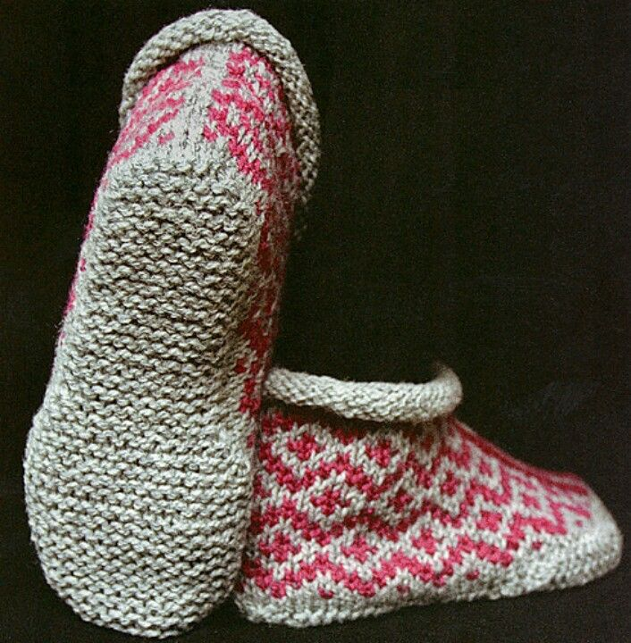 http://www.ravelry.com/patterns/library/garter-sole-slippers ...