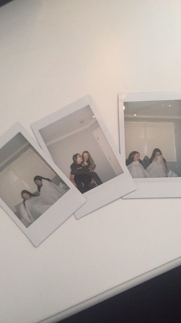 Shake it like a polaroid picture!! More