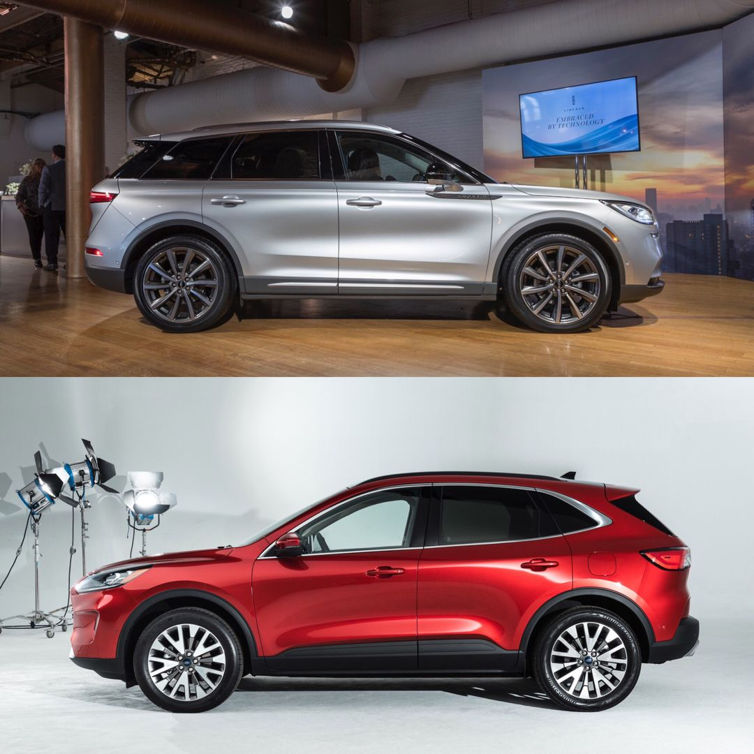 2020 Ford Escape Vs. Lincoln Corsair: Corporate Cousins