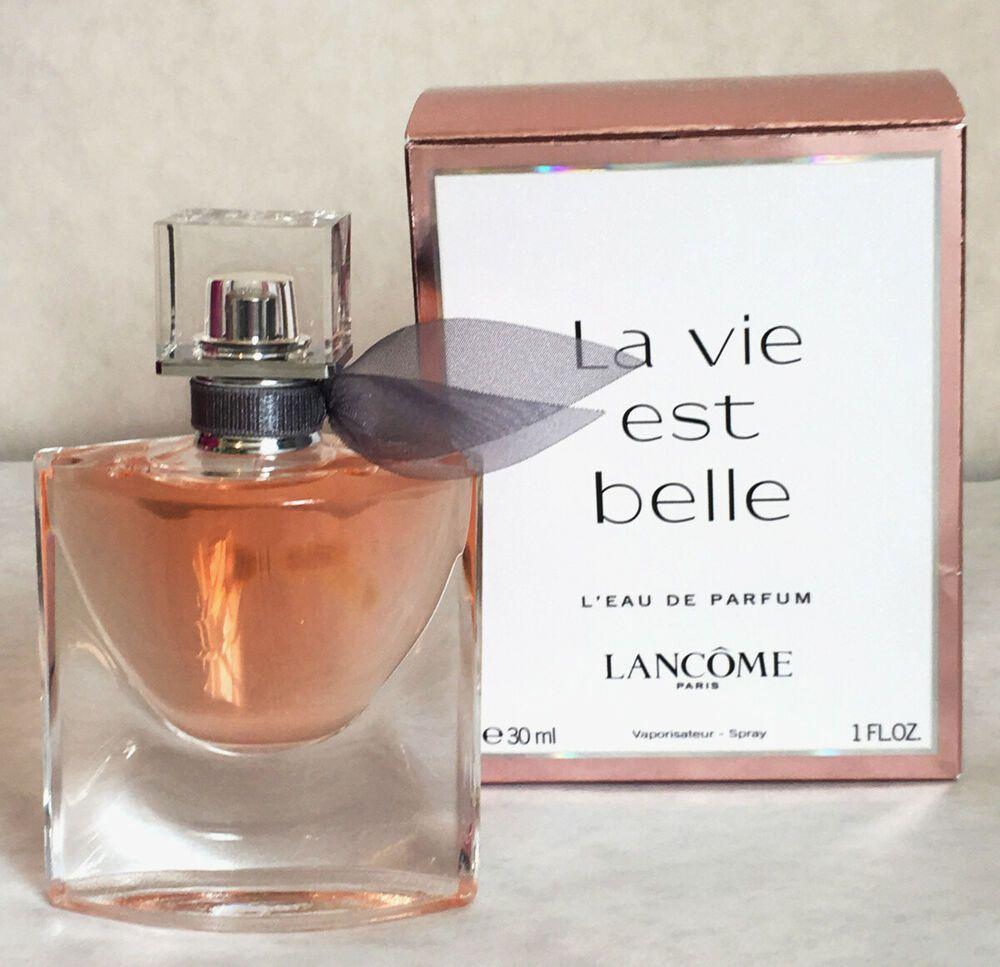 Details About Lancome La Vie Est Belle L Eau De Parfum Spray 1fl Oz 30ml Used 1 Time Lancome Perfume Eau De Parfum