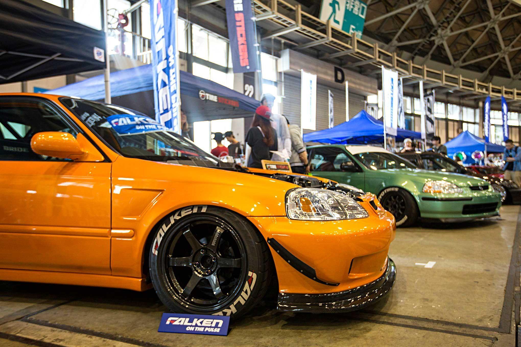 Hondas of Wekfest Japan 2017