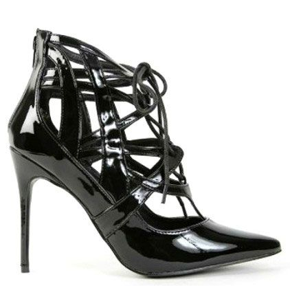glossy heels