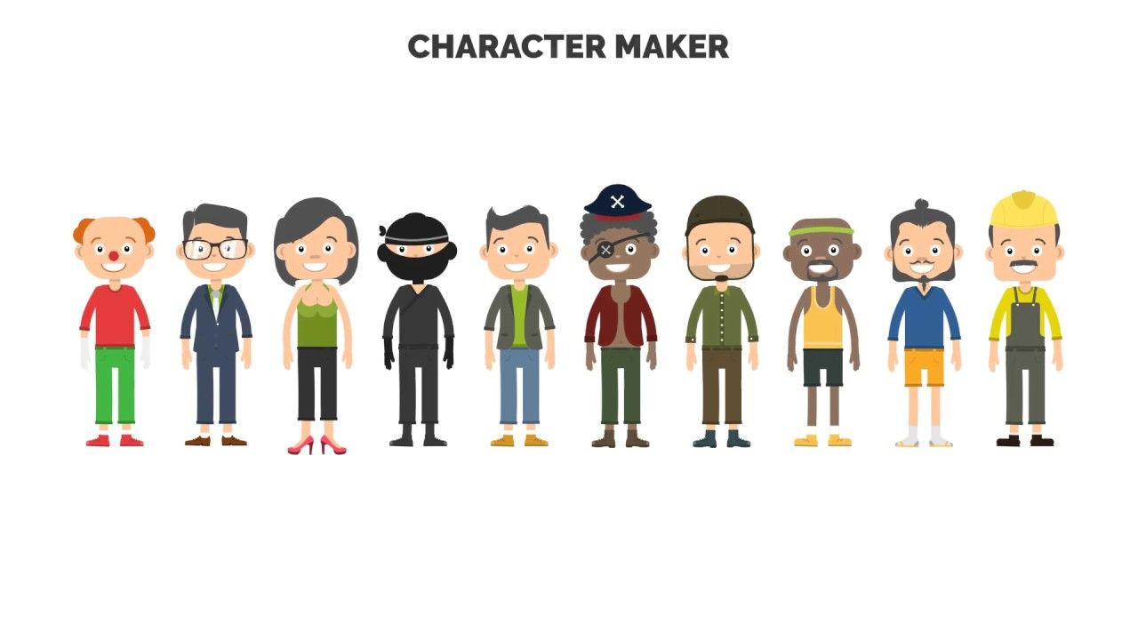 Character Maker - Explainer Video Toolkit (Top After Effects ...