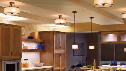 Layout Something Like This Mixing Flush And Pendant Same