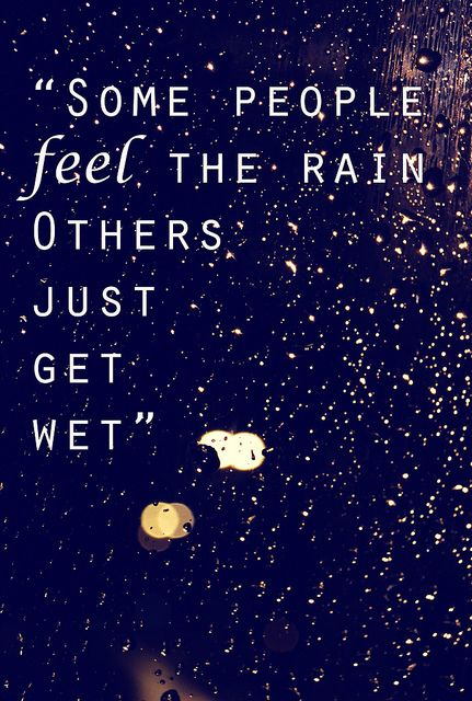 Walk in the rain without getting wet sexual health