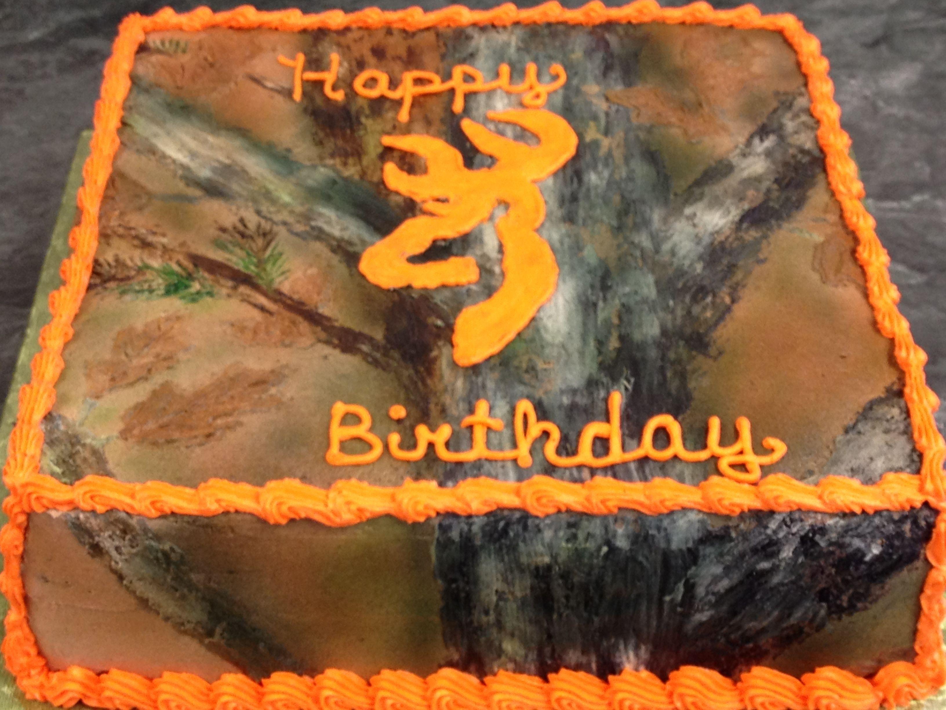 Another birthday camo cake Camo Cakes