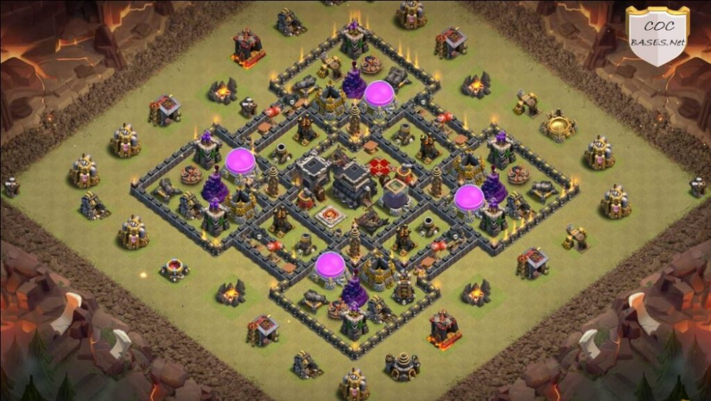 10 Best Th8 War Bases Copy Links 2021 All Anti Everything Bases War Clan Castle Clash Of Clans