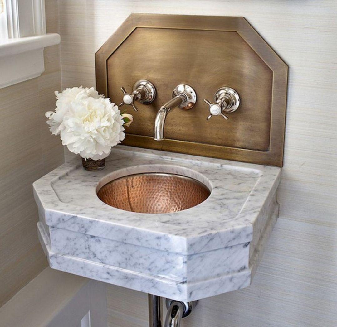 22 Unique Bathroom Sink Designs That Make Your Home More Stylish Bathroom Sink Design Unique Bathroom Sinks Powder Room Design