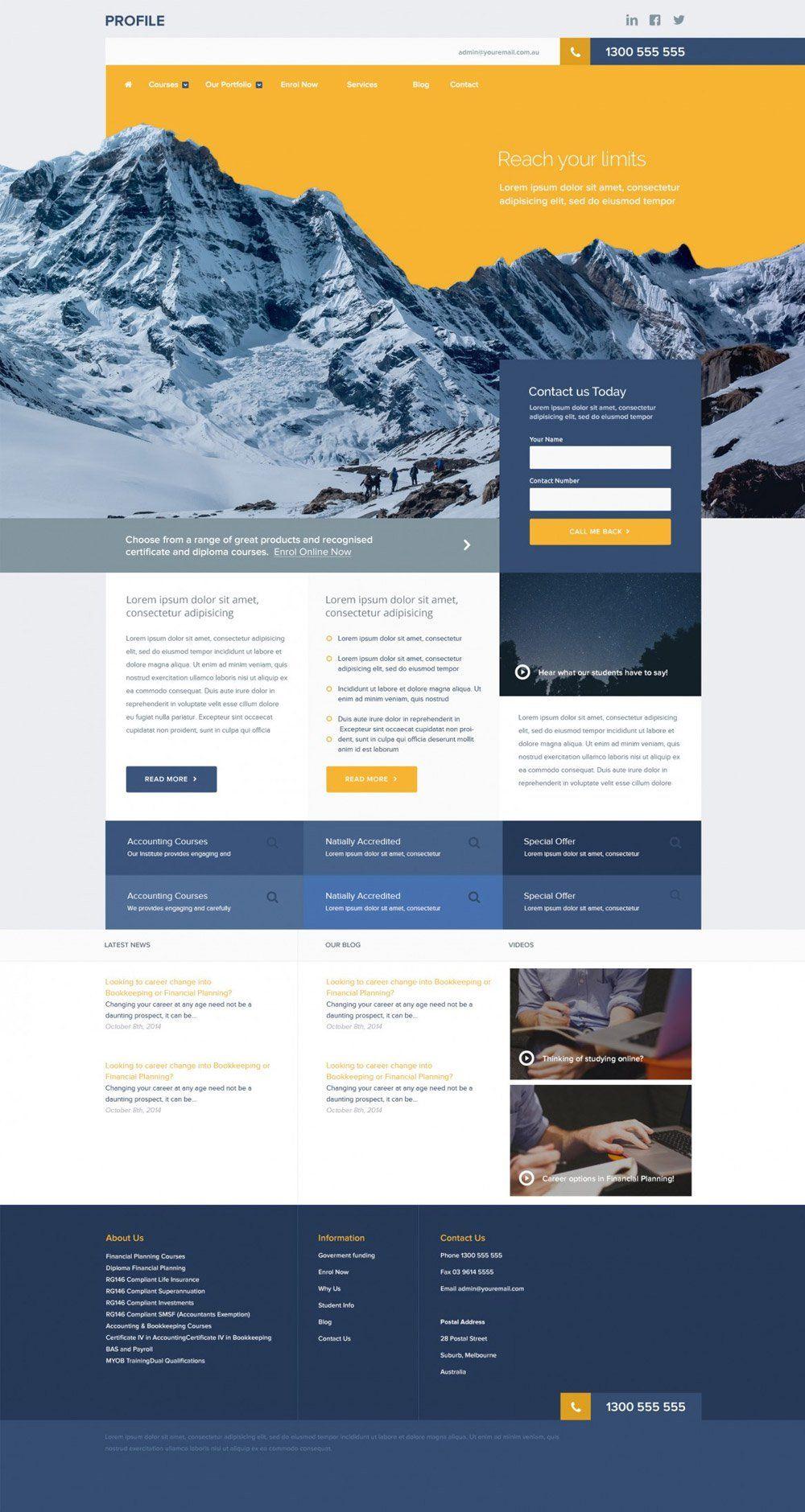 Design amazing psd web template travel web tp pinterest