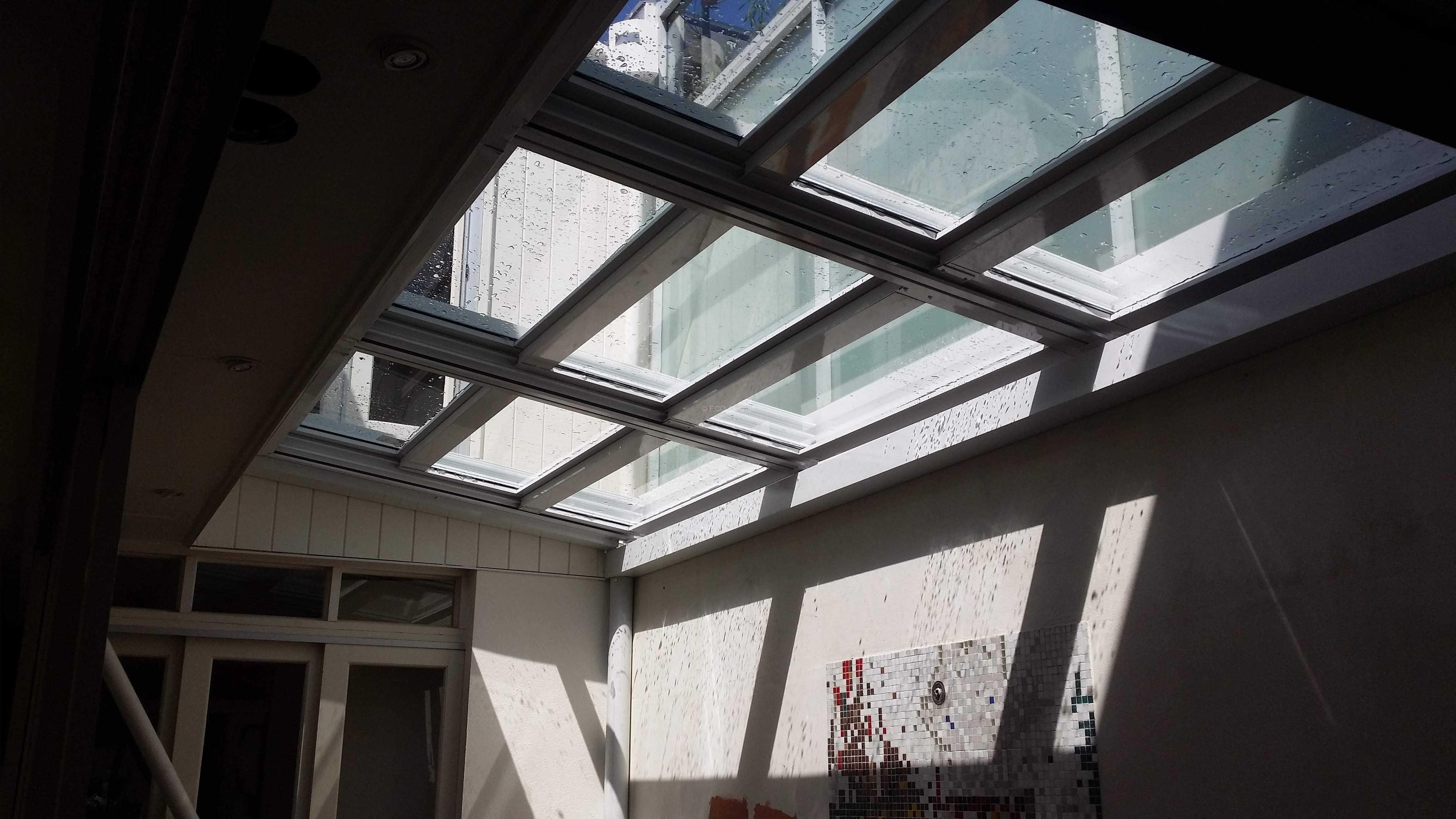 Get A Quick Quote Retracta Roof Eco Awnings In 2020 Glass Roof Roof Architecture Patio Roof