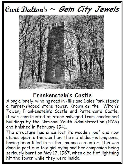 The Witch S Tower Of Hills Dales When Built And Why It Is Now Closed Dayton Ohio Places To Visit Dayton