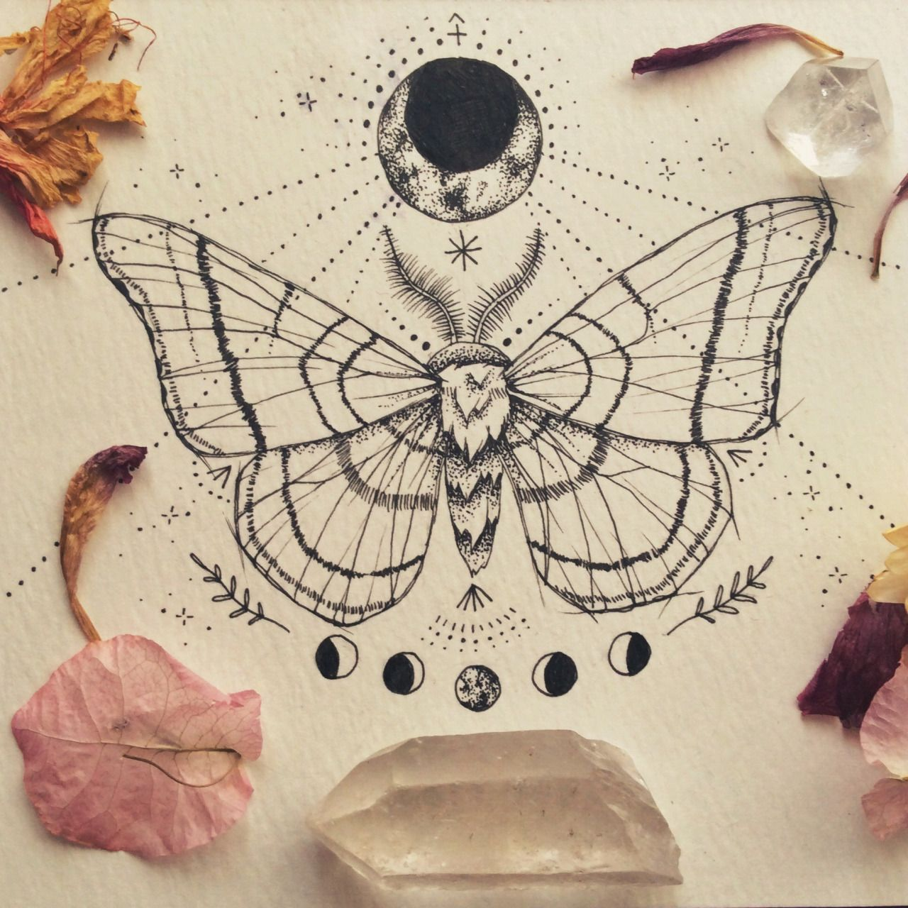 Luna patchouli moon moth commission symbols sacred moth tattoo buycottarizona