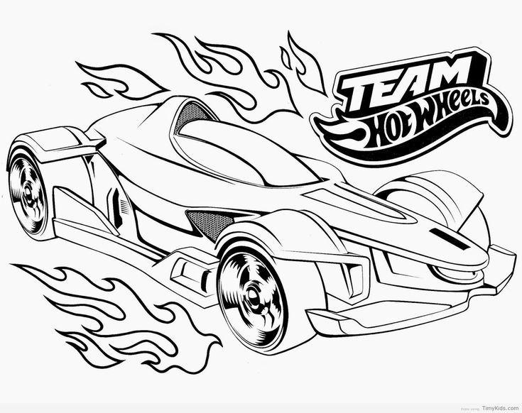rennauto hot wheels malvorlagen   race car coloring