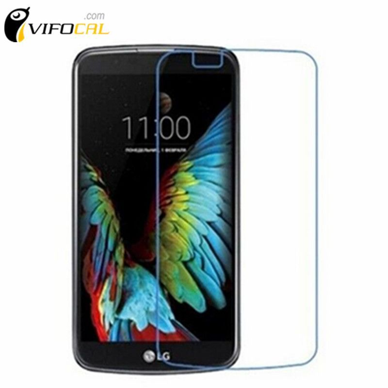"""Mobile Phone Screen Shied Tempered Glass 5.3"""" 2.5D 9H Anti-scratch Screen Protector Film For LG K10 + Free shipping + In Stock"""