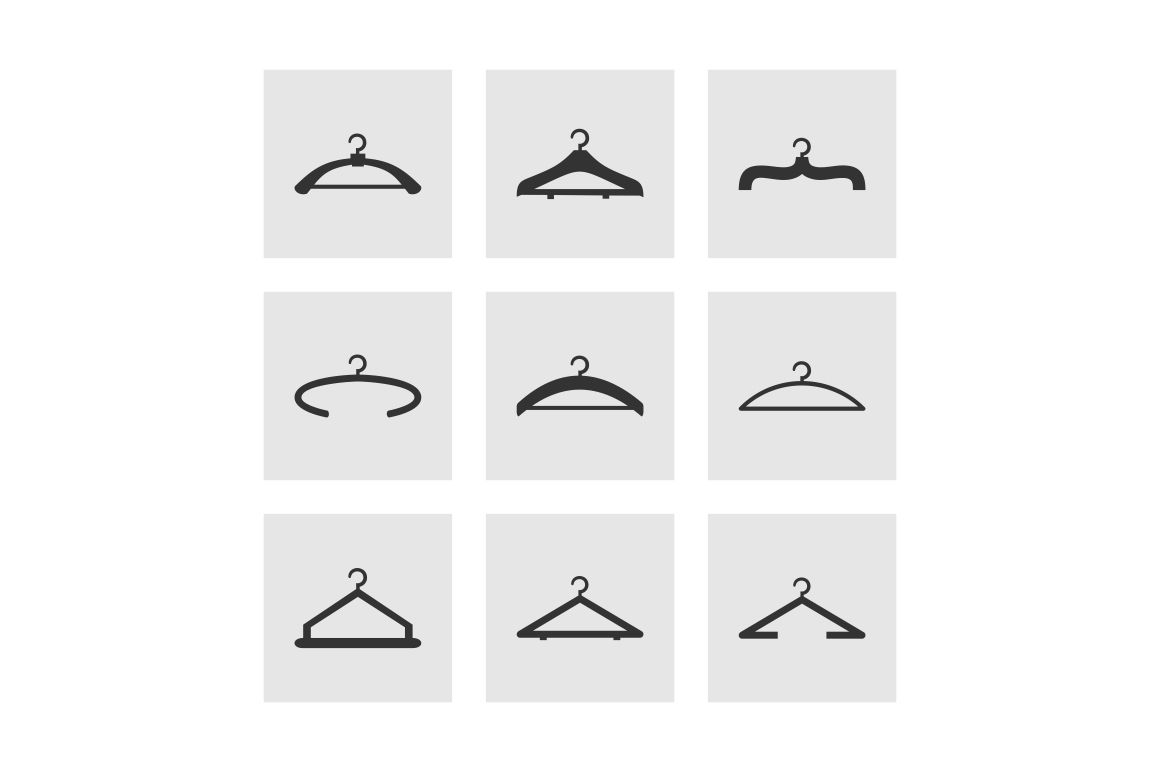 Hanger an icon by Vector30.com on Creative Market