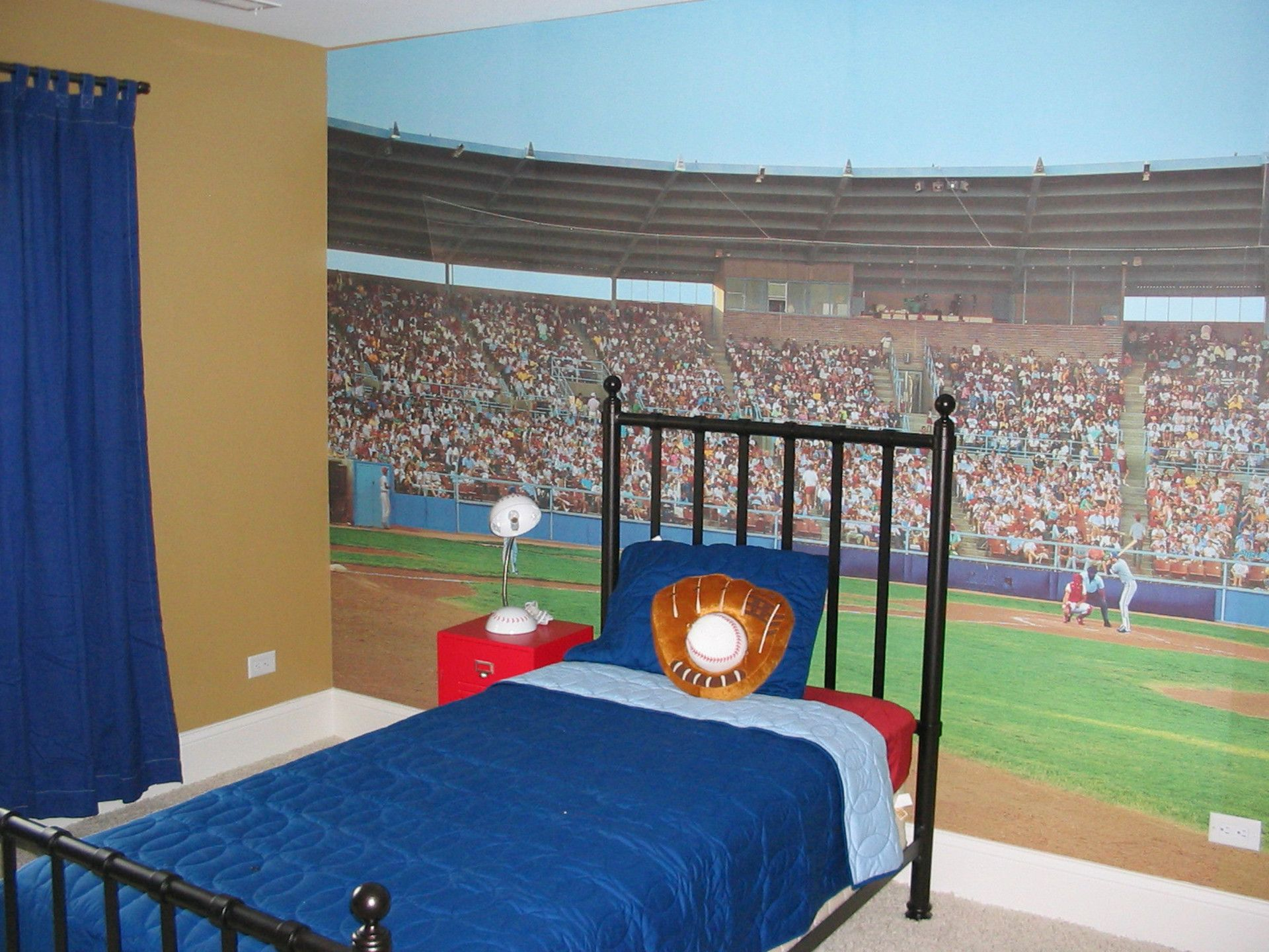 baseball wallpaper for bedrooms-#14
