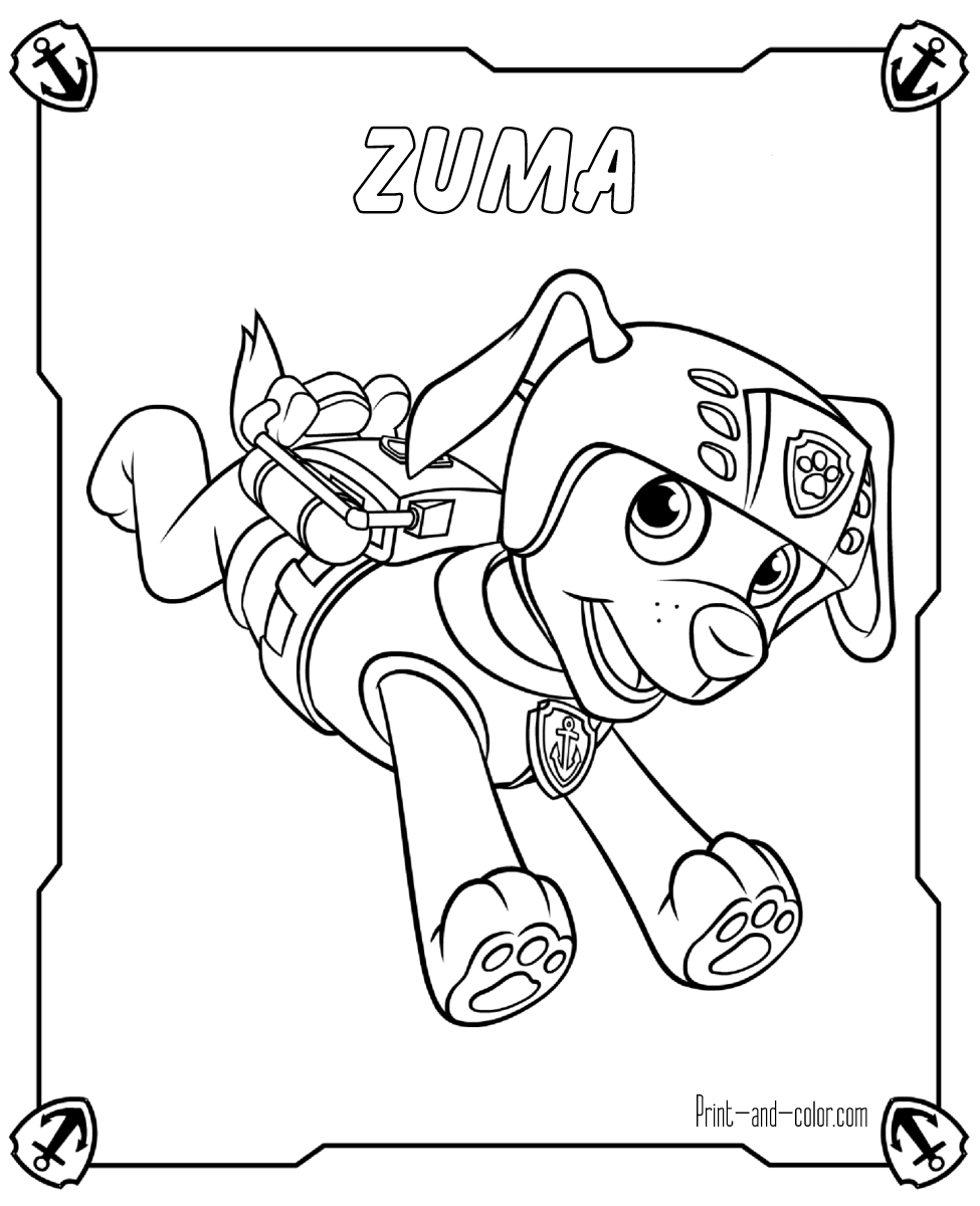 There Are Many High Quality Paw Patrol Coloring Pages For Your Kids Printable Free In One Paw Patrol Ausmalbilder Bilder Zum Ausmalen Kostenlos Ausmalbilder