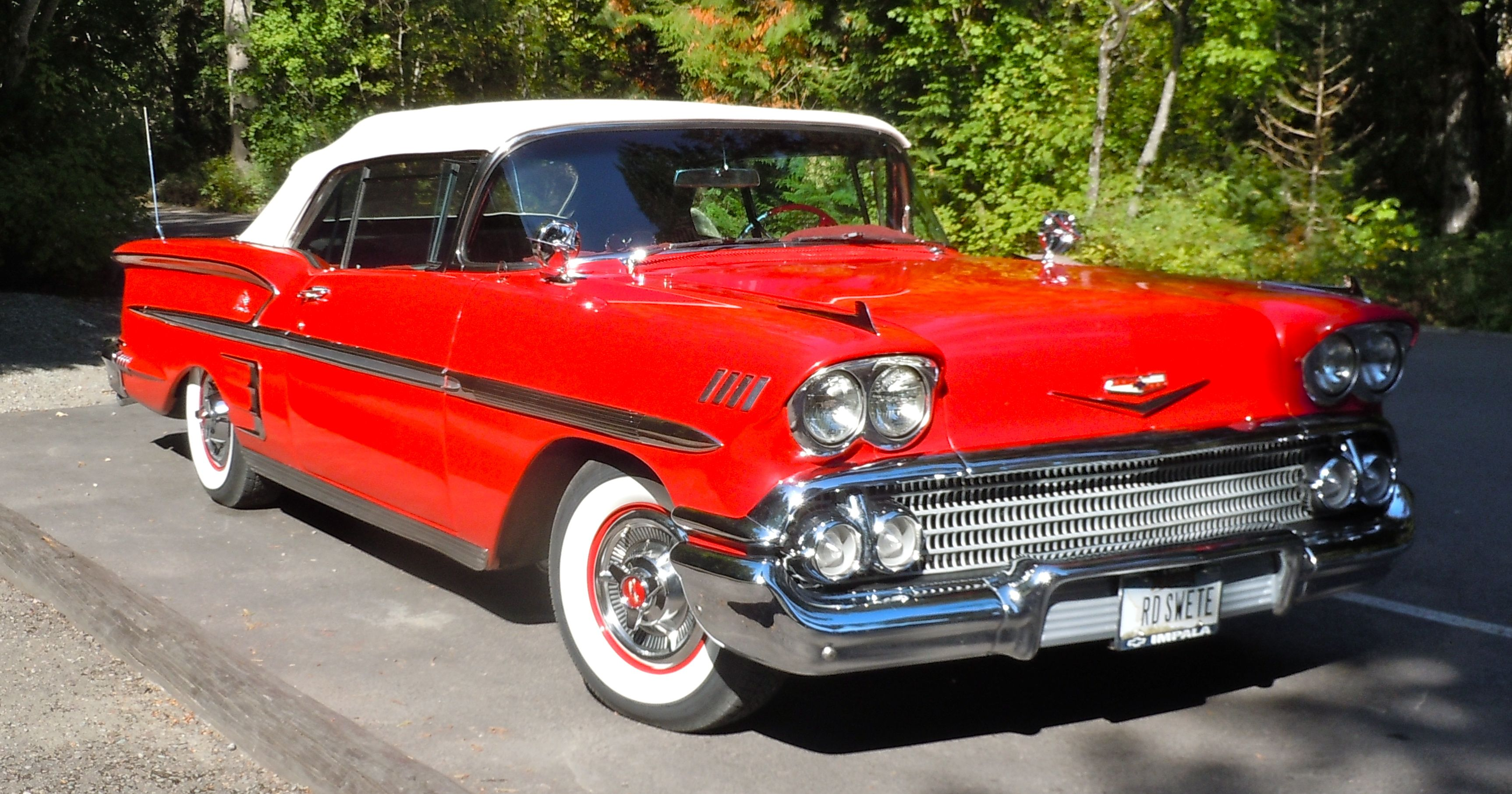 1958 Chevy Impala Maintenance of old vehicles: the material for new cogs/casters/gears/pads could be cast polyamide which I (Cast polyamide) can produce