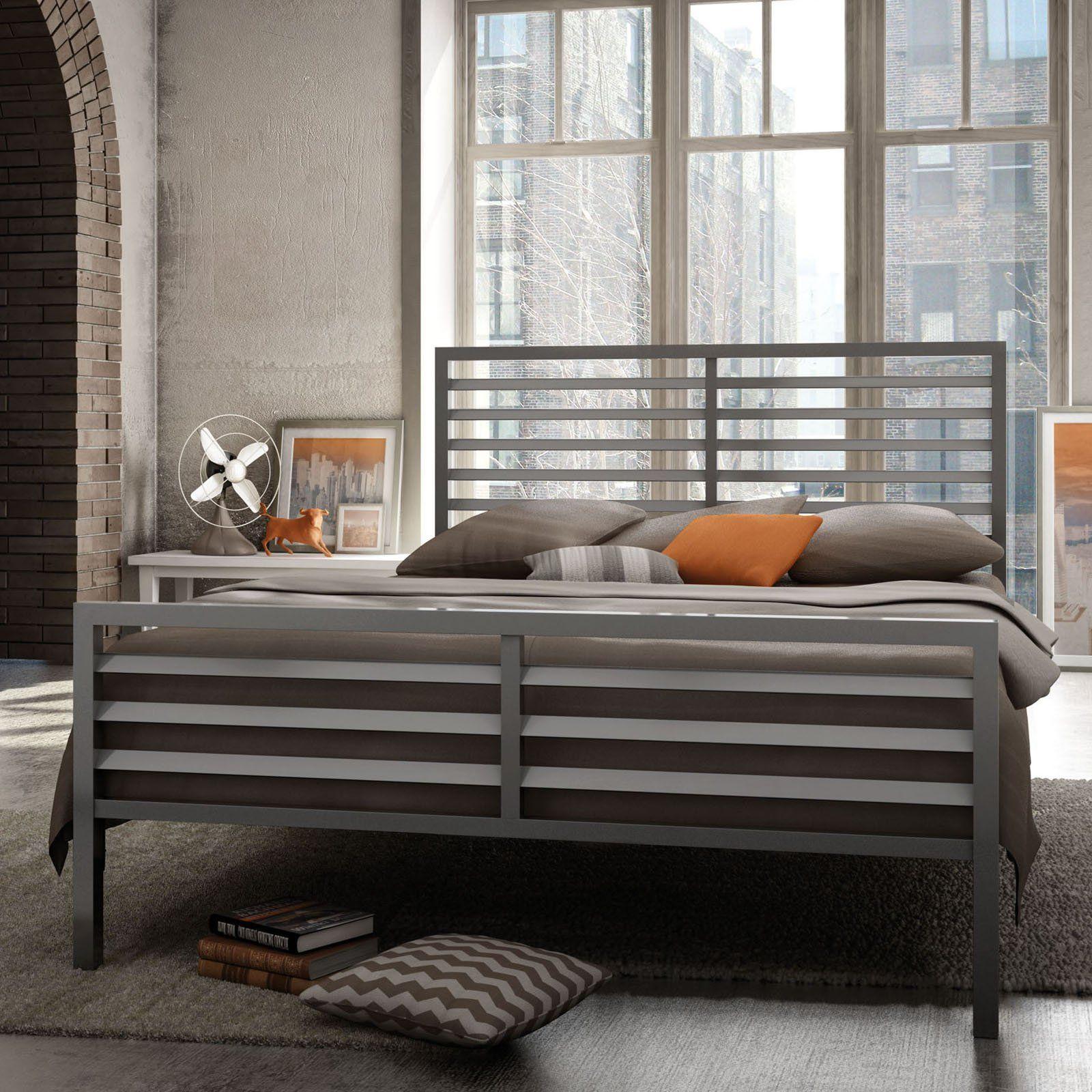 Amisco Theodore Metal Bed 9125 Savannah Metal Beds Bed Bed Frame