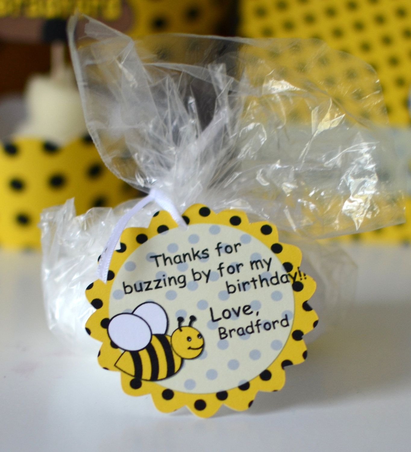 bumble bee birthday party favors bumble bee baby by bcpaperdesigns 9
