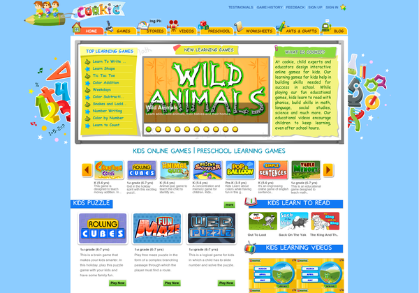 educational games for centers/smartboard Learning games