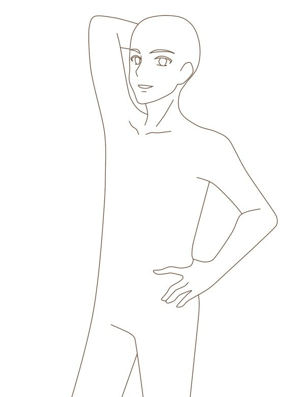 Anime Man Boy Manga Base Reference Anime Poses Reference Anime Boy Base Drawing Base