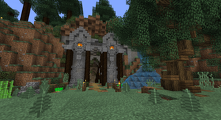 My Ssp Underground Base Entrance Minecraft My Minecraft