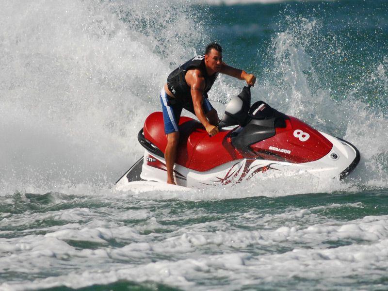 Flynhigh waverunners and parasailingjet ski rentals
