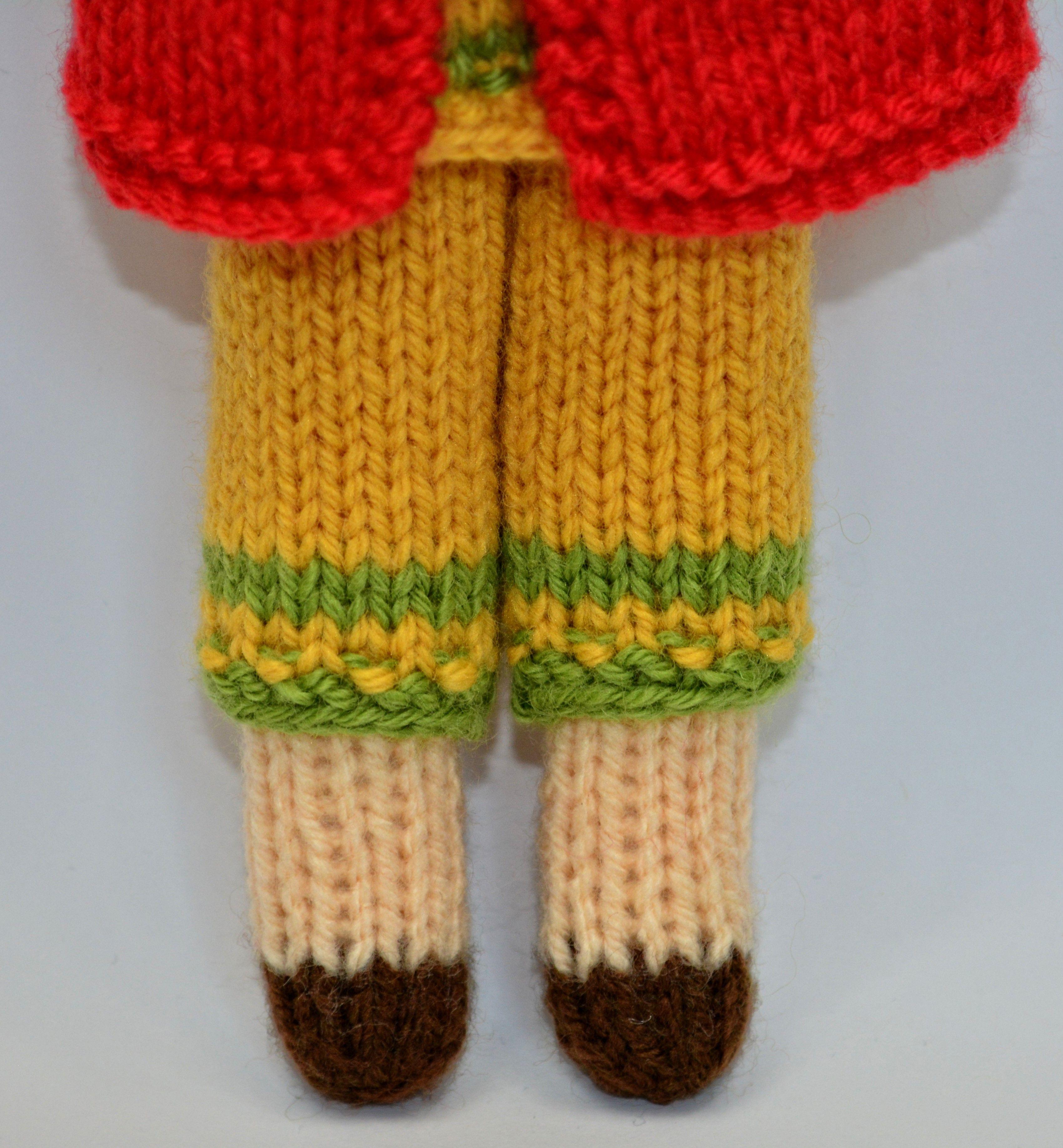Daisy Rag Doll, Toy Doll Knitting Pattern   Knitting ...