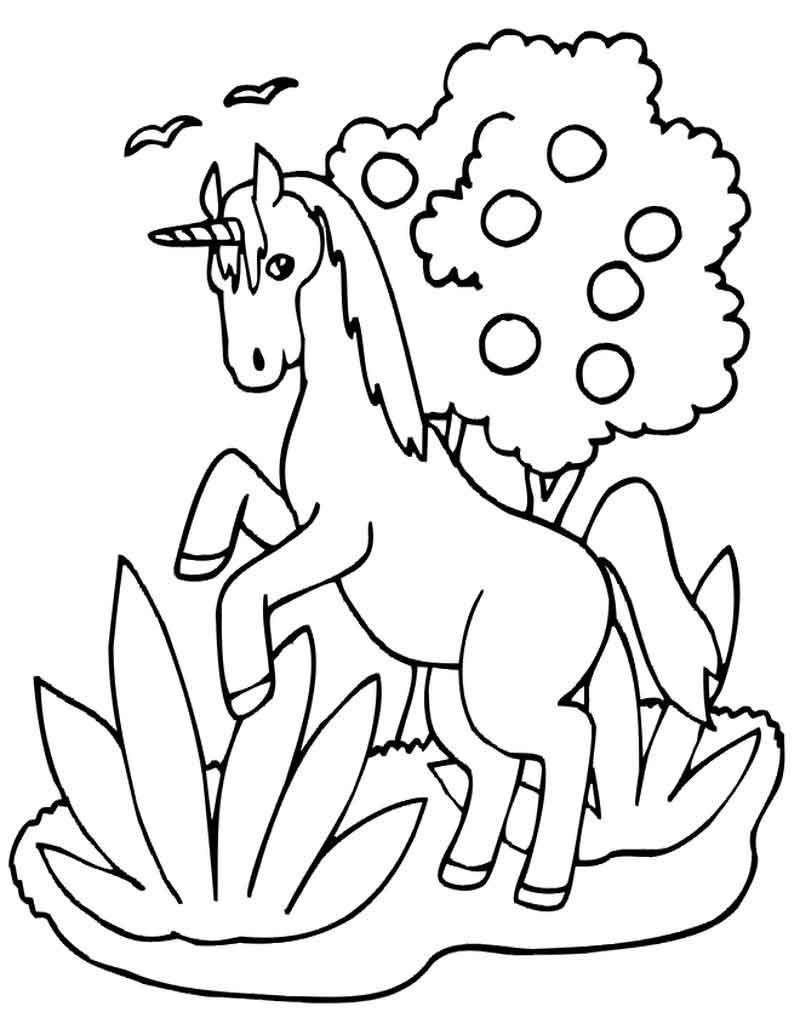 unicorn emoji kleurplaat kleurplaten dieren