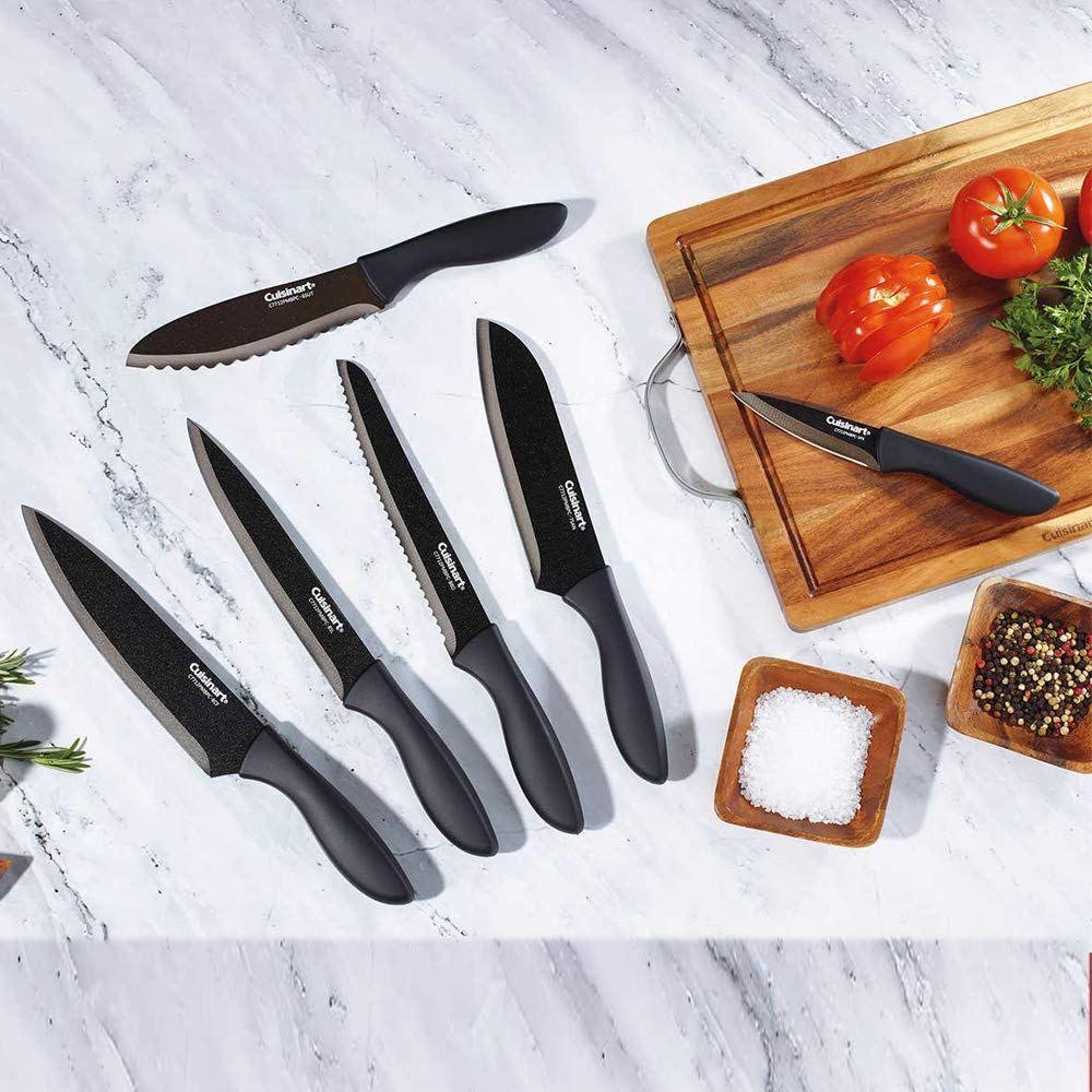 Cuisinart 12 Piece Knife Set Only 14 99 Was 49 99 In 2020 Knife Sets Knife Black Cutlery