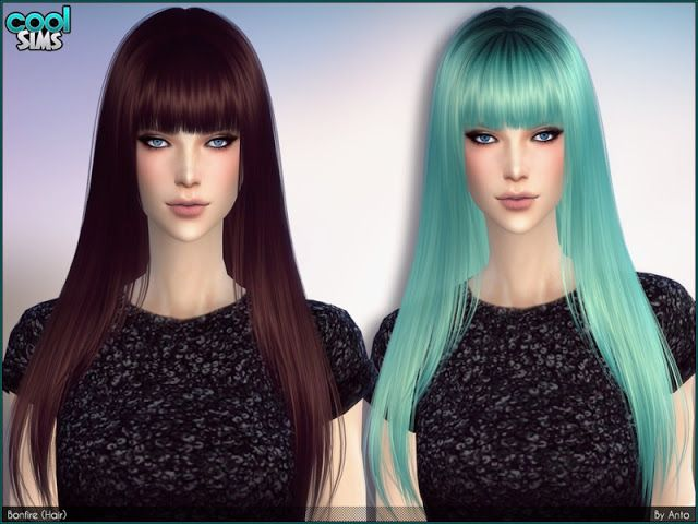 Sims 4 Cc S The Best Hair By Anto Sims Cc Videospiele